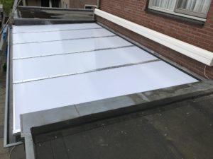 Renovatie dak serre