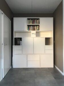 Maken TV-boekenkast